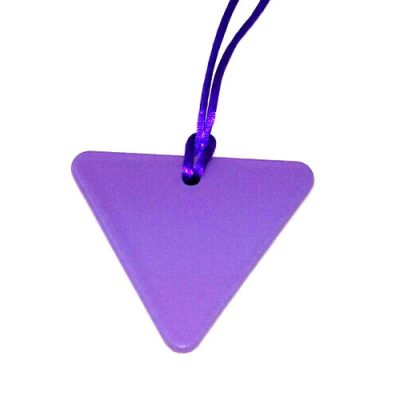 triangle for woman Tesla Purple Plate